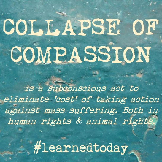 Collapse of Compassion