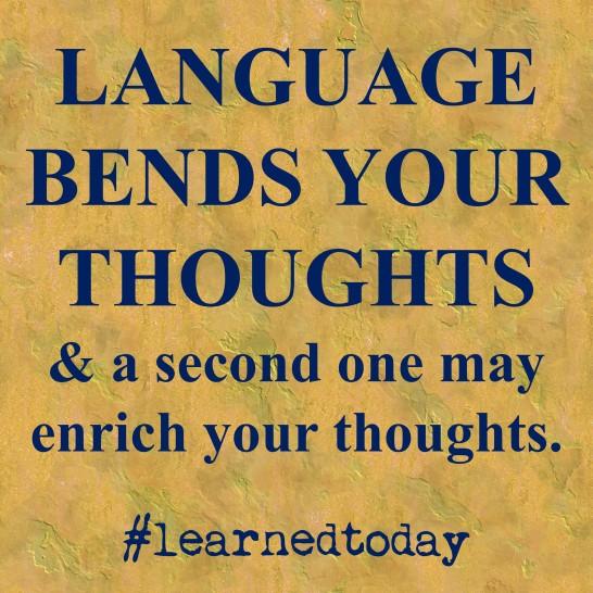 Language as thought bender